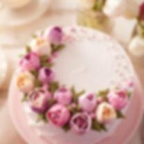 バラのwiltonデコレーションケーキ