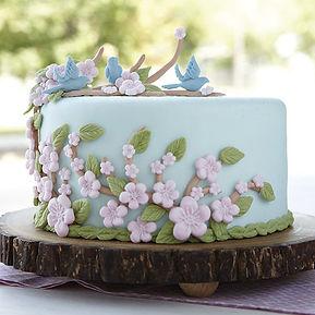 梅のwilton大阪(ウィルトン)デコレーションケーキ