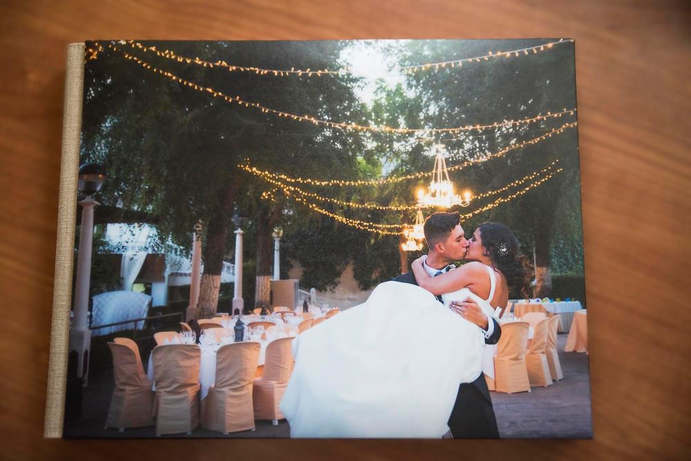 Album de fotografias de boda en Granada