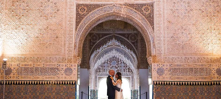 Fotografia de boda en Granada con un estilo unico