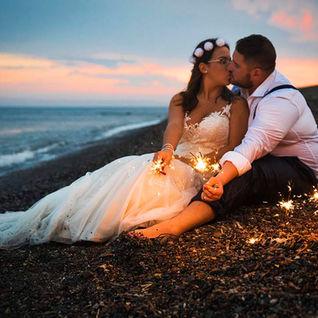 Fotografo post boda playa