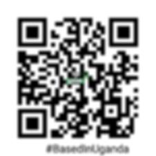 #BasedInUganda URL in a QR Barcode