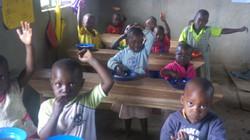 Children of Kasambya In School