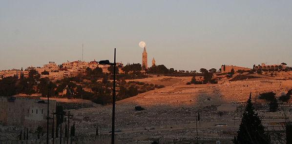 027 Sunset over Jerusalem.JPG