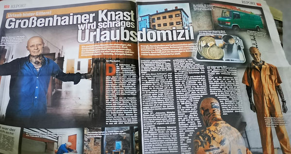JVA Grossenhain prison  Nick Sonntag DMP
