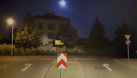 JVA Grossenhain prison night view