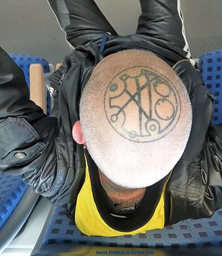 Jewish Skinhead on German train 2 May 20 2021 1656 2.jpg