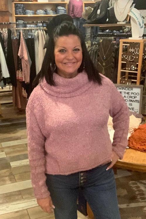 Elan loose turtle neck sweater