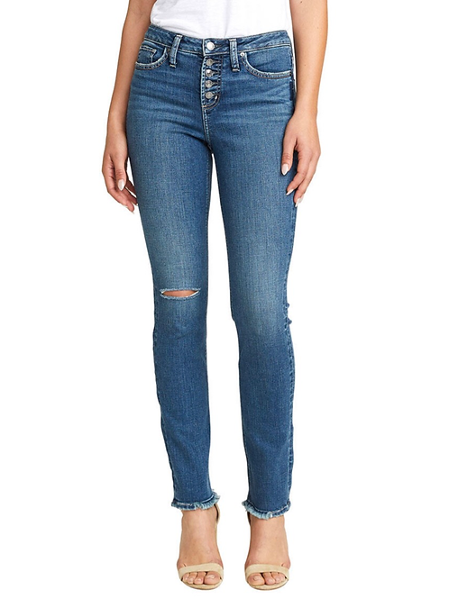 Silver High Note Jean