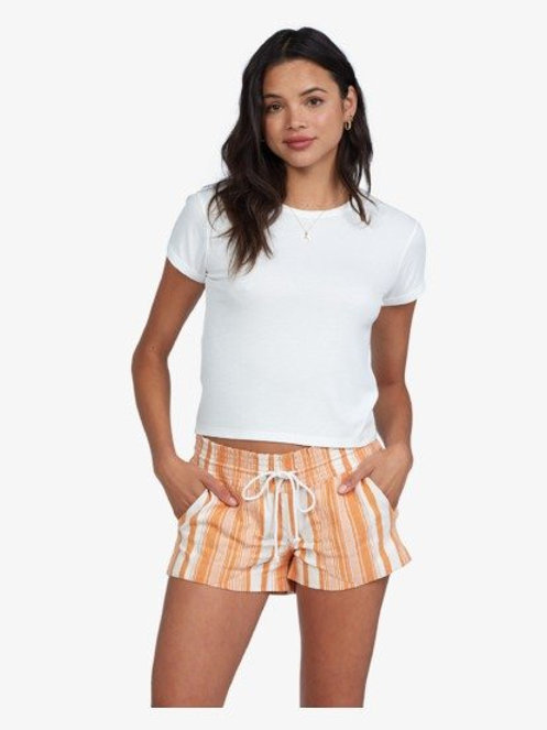 Roxy Oceanside shorts orange/white