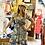 Thumbnail: Floral woven midi dress