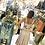 Thumbnail: Blush w/polka dots tie back dress