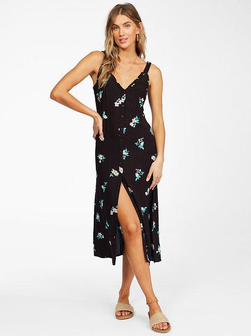 Billabong sweet edge midi dress