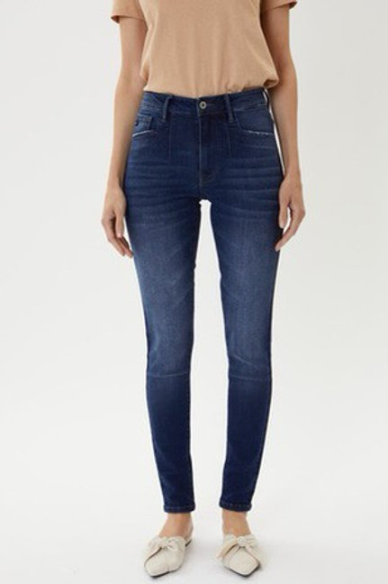 Kan Can High rise super skinny jeans