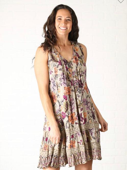 Nostalgia floral dress