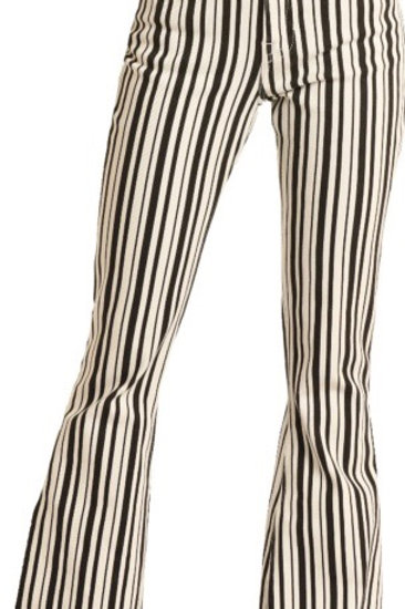 Rock & Roll Cowgirl striped flare jean