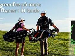Spil til halv greenfree på mere end 750 golfbaner i 10 lande