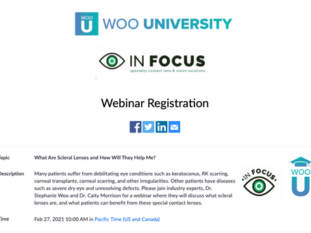 Will Scleral Lenses Work For You? Join our FREE Webinar!