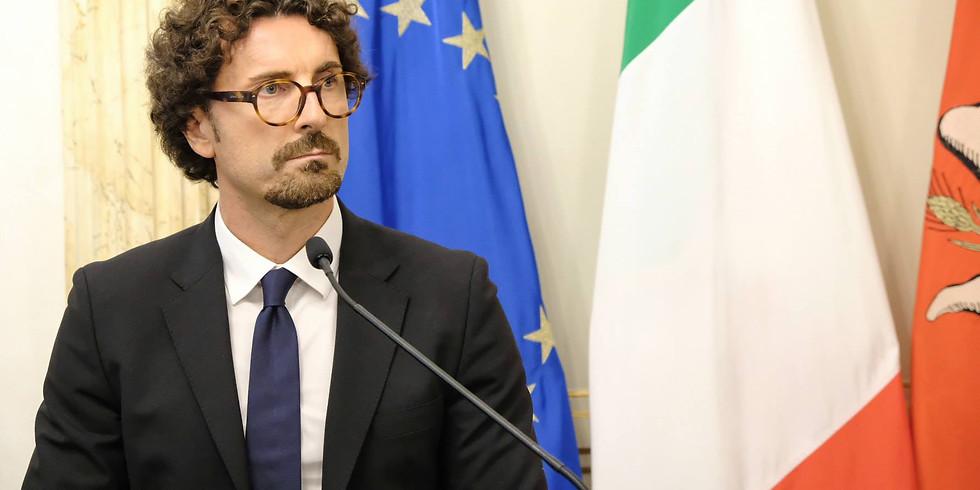 Parla l'ex Ministro Danilo Toninelli