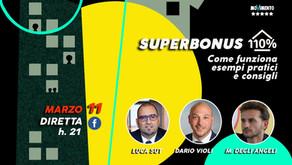 EVENTO GIOVEDÌ 11 MARZO 2021 - SUPERBONUS 110 %