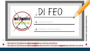 Christian di Feo ufficialmente candidato al Parlamento Europeo per il M5S