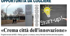 """Crema sia """"Città dell'innovazione"""""""