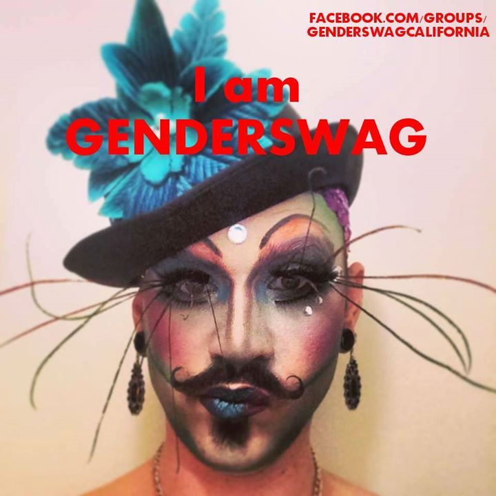 I AM GENDERSWAG! _I'M OK WITH ME - SO I