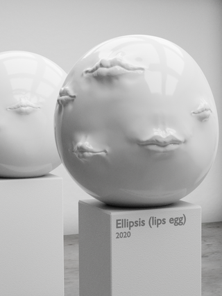Ellipsis (lips egg)