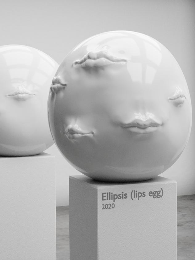 Ellipsis (lips egg)