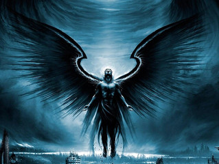 """The Angel of Darkness Awaits"" Poem"