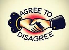 """""""Agree to Disagree"""" Poem"""