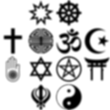 A Loer in the Land of Hell Relgious symbols