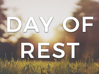 It's Time To Take A Day Off To Rest!