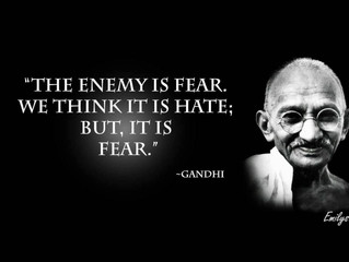 Fear: The Ultimate Enemy