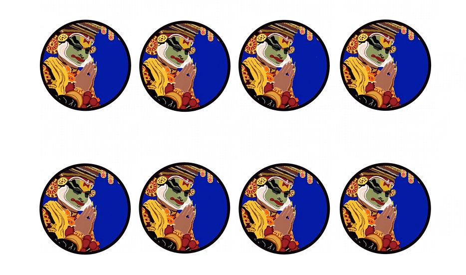 Stickers - Kathakali