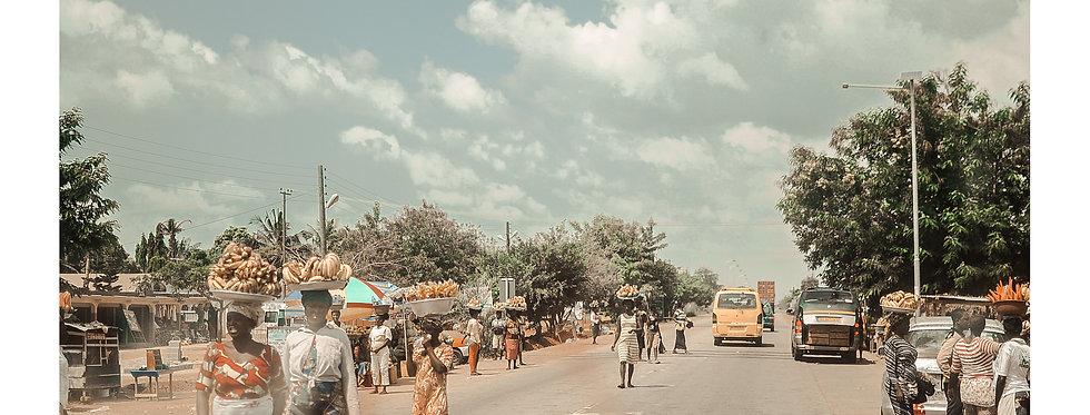 DESTINATION STORIES GHANA 1 /POSTCARD