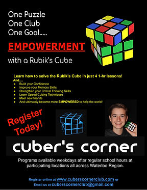 Copy of Cuber's Corner after school prog