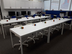 STEM lab workshop setup