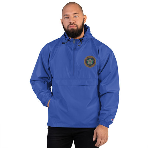 VLEOA Logo Embroidered Champion Packable Jacket