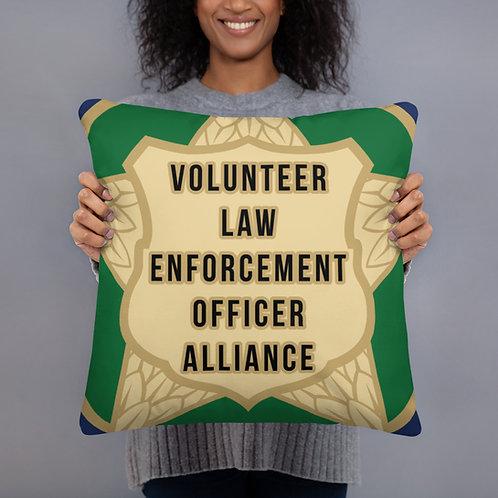 VLEOA Logo Pillow