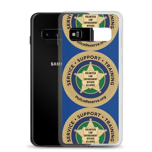 VLEOA Pattern Logo Samsung Case