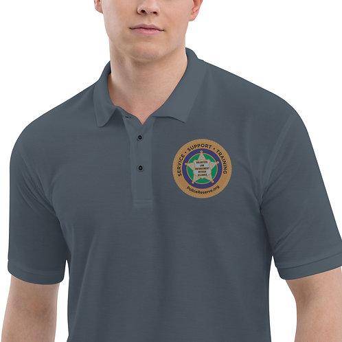 VLEOA Logo Embroidered Men's Premium Polo