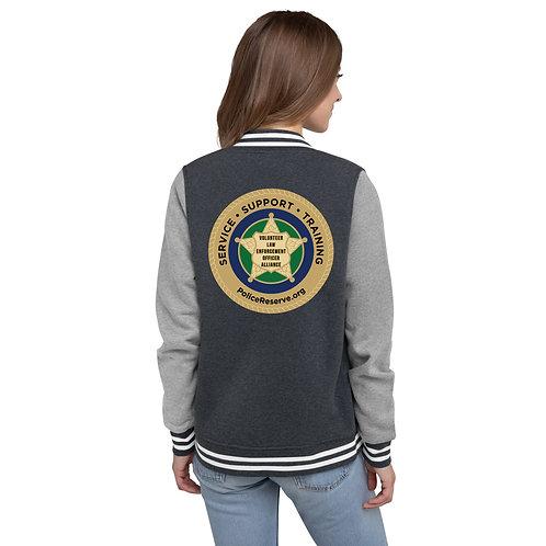 VLEOA Logo Women's Letterman Jacket