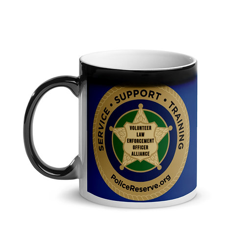 VLEOA Logo Glossy Magic Mug