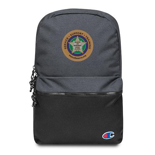 VLEOA Logo Embroidered Champion Backpack