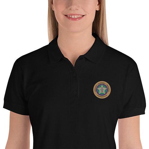 VLEOA Embroidered Women's Polo Shirt