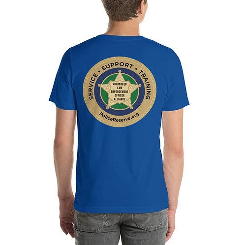 VLEOA Logo Front/Back Short-Sleeve Unisex T-Shirt