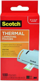 Hot thermal laminating pouches