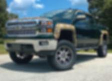 Green Rocky Ridge Chevrolet Silverado Realtree Package