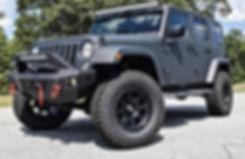 Black Rocky Ridge Stealth Package Coated Lift Kit